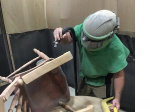 Furniture Restoration Blasting